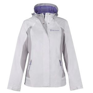 NWT FREE COUNTRY White Multi Rip Stop Jacket PXL